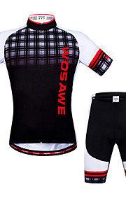 WOSAWE Summer Cycling jerseys+ shorts set 3D gel pad Quick Dry maillot ciclismo Cycling Clothing