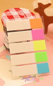 Half Color Stripe Self-Stick Notes(1 PCS)