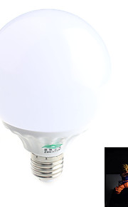1 stk. Zweihnder E26/E27 7W 14 SMD 3528 800 lm lm Naturlig hvit G60 Dekorativ LED-globepærer AC 85-265 V