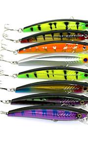 """Błystki 8pcs szt,10.4g g/3/8 Uncja,93mm mm/3-1/2"""" cal Kolory losowe Twardy plastikSea Fishing / Wędkarstwo słodkowodne / General Fishing"""