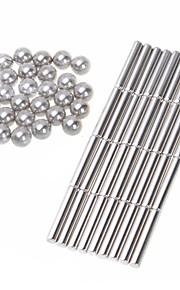 36st magnet barer 27pcs magiska kuben bollar kombination magnet magiska kuben leksaker