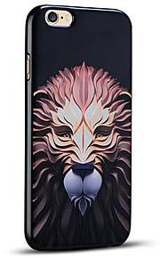 høy kvalitet preget løve myk beskyttende bakdekselet iphone case for iphone 6s pluss / iphone 6 pluss