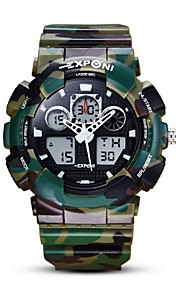 Men's Watch  /Calendar/ Alarm  /Noctilucent/ Analog-Digital Watch