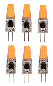 4W G4 LED-lamper med G-sokkel T 1 COB 300-360 lm Varm hvit / Kjølig hvit Dimbar / Dekorativ AC 220-240 / AC 110-130 V 10 stk.