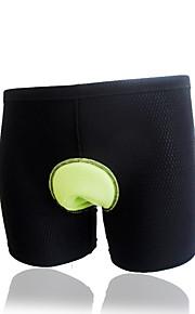 男性用-高通気性-サイクリング-バギーショーツ-ボトムズ(ブラック,ブラック) -半袖