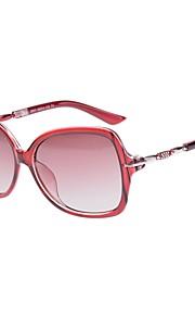 Solbriller kvinder's Klassisk Polariseret Linse Trekkingbriller Vin Solbriller Full-Rim