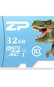 ZP 32GB Clase 10 / UHS-I U1 MicroSD/MicroSDHC/MicroSDXC/TFMax Read Speed80 (MB/S)Max Write Speed20 (MB/S)