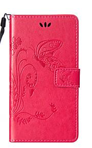 풀 바디 지갑 / 스탠드 / 튀기다 기하학적 패턴 인조 가죽 하드 Wallet  with Stand Flip 케이스 커버를 들어 HTC HTC Desire 626 / HTC Desire 820 / HTC M8 / HTC M9