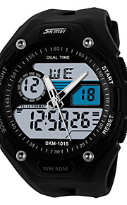 Men's  Sports Watch  LCD / Calendar / Chronograh / Water Resistant  / Noctilucent Wrist Watch