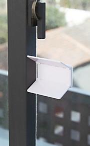 seguro de las ventanas del bebé de plástico (1 PC color al azar)