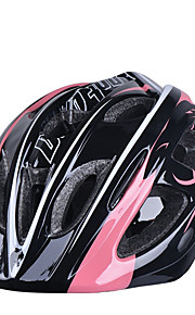 MOON Kid's Mountain / Road / Sports Bike helmet 17 Vents Cycling Cycling / Ice Skate / Skate Medium: 55-59cm PC / EPS Pink / Black