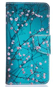 blomme gren mønster kort telefon dækning for lg K7 / k10