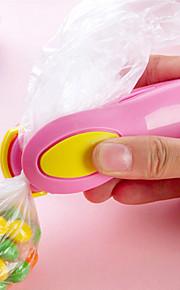 bærbare mini snacks plastikposer varme, forsegling maskine rejse hånd pres typen