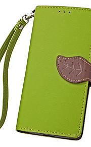 hoja karzea ™ Funda protectora de cuerpo completo de la PU con la cubierta de TPU para soportar el metal meizu (colores surtidos)
