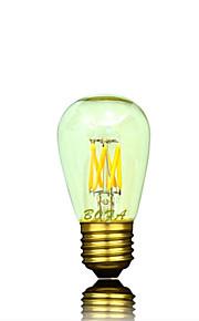 1 stk. NO E26 / E26/E27 3W 6 COB 200-400 lm Varm hvit Tube Dimbar / Dekorativ LED-globepærer AC 220-240 / AC 110-130 V