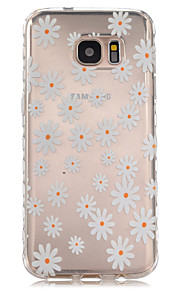 krysantemum kronbladene mønster slip TPU telefon tilfelle for samsung galaxy S7 / S7 kanten