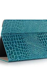 mode hög kvalitet tunna krokodil läderfodral för iPad pro mini smarta locket med stativ alligator mönstrar fallet