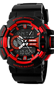 Men's  Watch/ Calendar / Chronograph  / Alarm  /Noctilucent/ Digital Wrist watch