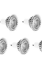 7W GU10 LED-spotpærer 1 COB 420 lm Varm hvit / Kjølig hvit / Naturlig hvit Dimbar AC 220-240 V 5 stk.