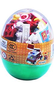 politiet bilen 6504, dr. bygning blokerer trafik blokerer snoet æg pædagogisk legetøj samlet 69 pcs