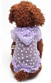 Cães Camiseta Verde / Púrpura Verão / Primavera/Outono Clássico Fashion-Lovoyager