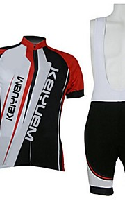 KEIYUEM®Others Men's Cycling Jersey Short Sleeves + BIB Shorts ropa ciclismo Cycling clothing Suits #51