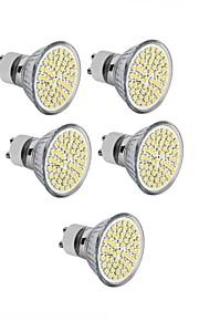 4W GU10 / GU5.3(MR16) / E26/E27 LED-spotpærer MR16 60SMD SMD 2835 300 - 400LM lm Varm hvit / Kjølig hvit DekorativAC 220-240 / DC 12 / AC