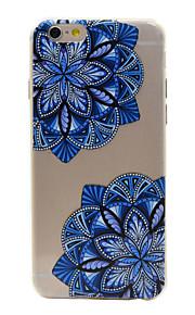 TPU material färg ihåliga blommönster mjuk telefon fallet för iphone6 / 6s / 6 plus / 6s plus