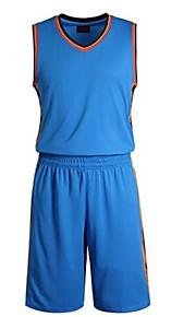 Men's Sleeveless Leisure Sports / Badminton / Basketball / Running Clothing Sets/ Quick Dry /