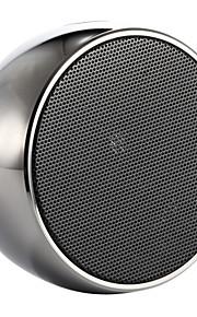alto-falante sem fio xadrez alto-falante Bluetooth portátil com cartão de tf prata suporte mic / ouro