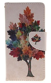 дерево цвет держатель карты бумажник PU кожаный чехол для телефона Huawei P9 / p9lite