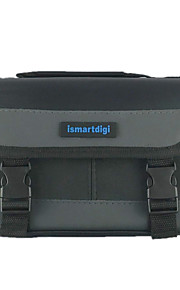 ismartdigi i104 Black Camera Bag for All DSLR and Mini DSLR DV Nikon Canon Sony Olympus