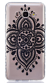 nó pattern pintado caso de material TPU telefone preta chinesa para Galaxy j1 / j1ace / J120 / J2 / J3 / J5 / J510 / J7 / G360 / G530 /