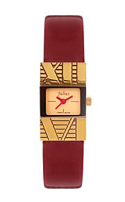 Mulheres Relógio de Moda Quartz Couro Banda Branco / Azul / Dourada / Bege marca