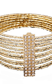 MISSING U Alloy / Rhinestone Bracelet Strand Bracelets Party / Daily 1pc