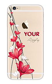 kakashi weinig verse serie TPU schilderij zachte hoes voor de iPhone 6s / 6 / 6s plus / 6 plus (geurige lelie)