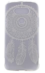 TPU materiaal half campanula geschilderd patroon zachte telefoon geval voor asus zenfone lg g5