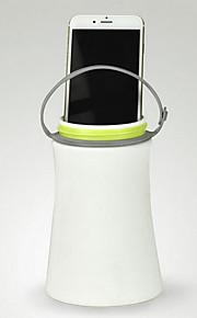 utendørs kompass usb multi-funksjons silikon night vanntett camping bærbar lampe