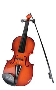 plástico violino criança simulação marrom para crianças acima de 3 brinquedo instrumentos musicais