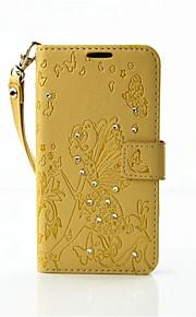 caja de cuero de la PU de la cáscara de estampado de diamantes carpeta nueva para Nokia 650 de lujo piel de la cubierta magnética