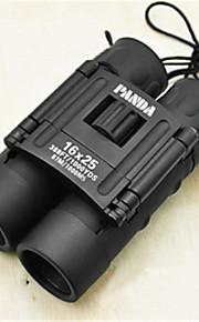 PANDA 12 25mm mm Binoculars BAK7 Weather Resistant 78m/1000m 30mm Central Focusing Multi-coated General use Normal Black