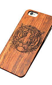Ultra Thin Wooden Tiger Protective Back Cover Hard iPhone PC Case for iPhone 6s Plus/6 Plus/iPhone 6s/iPhone 6