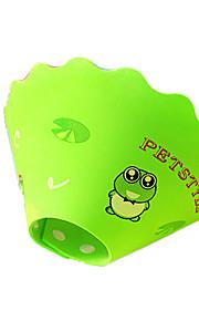 犬用品 カラー 防水 / ソフト グリーン / ブルー / ピンク / イエロー ラバー