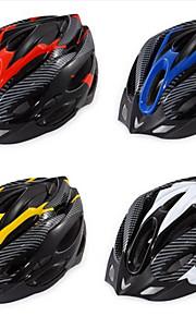 קסדה-יוניסקס-הר / כביש / ספורט-רכיבה על אופניים / רכיבה על אופני הרים / רכיבה בכביש / רכיבת פנאי(צהוב / לבן / אדום / כחול,EPS)19פתחי