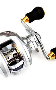 Spinning Reels 6.3/1 12 Ball Bearings Exchangable Bait Casting / General Fishing-Silver Revo Fishmore