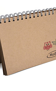 60 Book Style Pockets Photo Album with Owl Pattern for Fujifilm Instax Mini 7S 8 70 90 25 50S 8+ Film