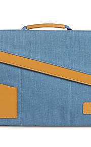 gearmax® 15inch laptop tas / sleeve grijs / blauw / paars