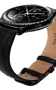 Bracelet en cuir pour samsung s2 engrenage classique