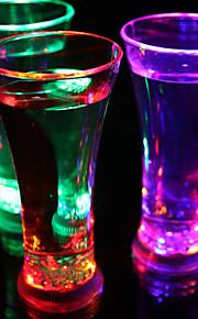 1 개 화려한 색상 창조적 인 술집 KTV 주도 램프 야간 조명은 음료 용기를 주도