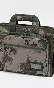 15 pulgadas de camuflaje bolsa de ordenador portátil / el caso para los negocios / estudiante verde militar